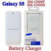 Extra Bakcup Power Battery Charger For Samsung Galaxy S5 i9600 SM-G900 SM-G900F SM-G900H SM G900F/H/V Bateria Batterij cargador