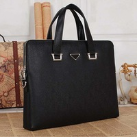 men leather briefcase real leather handmade men messenger bags big size men's travel bags 2014 famous brand men bag
