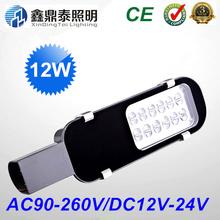 12W led street lights 12V 24V 85-265V IP65 high brightness 1200lm LED led street light road lamps 2 year warranty(China (Mainland))
