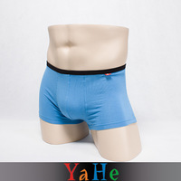 Hot Shapers Body Shorts Male Panties 8pcs/lot Cooler Blue Casual Breathable Briefs Male Underpants Sexy Gay Underwear MU2001G