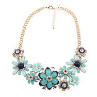 2014 New cheap statement necklace hot selling fashion design for girls&women sales!!!
