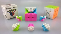YJ-MOYU AOLong  magic cube promotional toys folding magic cube puzzle cube usb cube craft paper toys