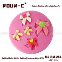 Silicone embossing cupcake mold,fondant decorating mold, newest cake decoration