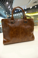 New 2014 Fashion men handbags one shoulder bag ,  restoring ancient ways style men business briefcase free shipping