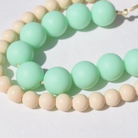 Chewable Teething Necklace ,Silicone Teething Necklace