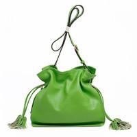 women shoulder bag leather handbags 2014 fashion tassel jelly candy bag of fringe