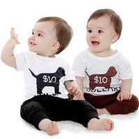 2014 Infant Boy T Shirt + Pants Sets Boy's Clothing Set Cartoon Cotton Set Free shipping