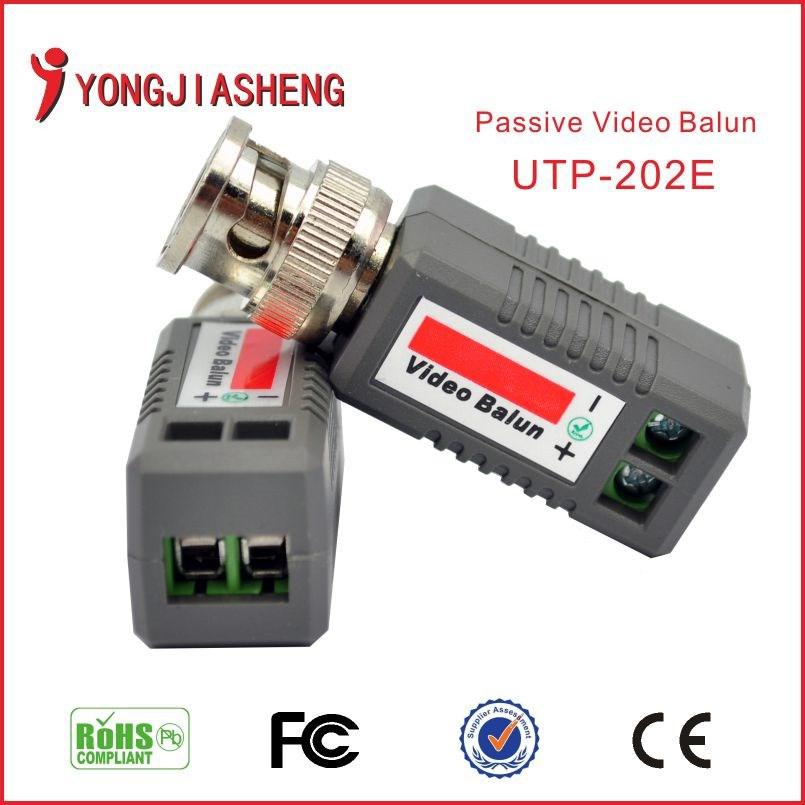 CCTV DVR camera BNC UTP Security Twisted Passive cctv Video Balun UTP Transivers/connector cctv balun video Transmitter 30PCS(China (Mainland))