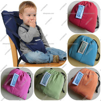Portable Baby Kid Toddler Child Infant Newborn Travel Feeding High Chair Booster Seat  Cover Cushion Sack Sacking Harness Belt