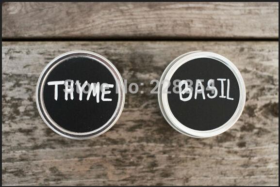 Krijtbord Keuken Kopen : Storage Jars Chalkboard Label