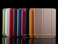 Folded PU Leather Smart Cover Case Tablet PC Back Case for Samsung Galaxy Tab 4 8.0 T330