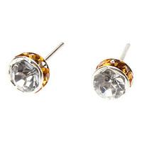 Free Shipping Loving Heart Swing Pattern Metallic With Diamond Necklace(10pcs)10891#