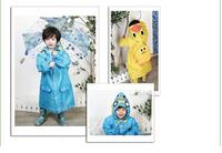 Free shipping,new fashion Linda cartoon animal shaped childern raincoat,cute animal style kid's rainwear poncho