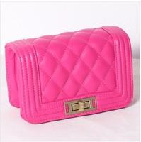 Women's handbag small chain bag fashionable casual plaid cross-body bag mini bag mobile phone bag