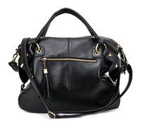 New Arrival 2014 High Quality Women PU Leather Messenger Bags handbags women famous brands Hot sale Fringed shoulder bag rivets