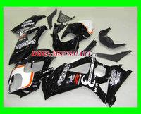 2014 Motorcycle Fairing kits for SUZUKI GSXR1000 K7 07 08 GSXR1000 2007 2008 White gloss black Fairings set+7gifts SQ64