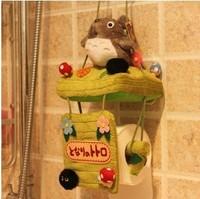 Creative DIY Cute Lovely Cartoon My Neighbor TOTORO Black Briquets Plush Restroom Toilet Paper Holder Car Tissue Box