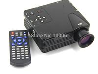 H100 Portable Mini Game Projector LED 80lumen Support TV/AV/VGA/SD/USD/HDMI Interface # 161329
