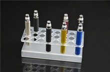 10PCS LOT DHL 100 Acrylic Display Stand for E Cigarett 24 pcs capacity for ego and