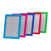2 pieces/lot  A4 size  plastic frame