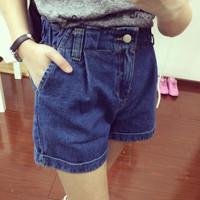 M&C S378 New 2014 fashion hole shorts female denim shorts mm / women jeans shorts Wholesale casual pants