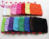 30pcs/lot 2014 Chic Cute colored Baby Girl 15*13CM 15colors choose Crocheted Tube Tops Kids Crochet Chest Wraps wholesale
