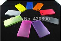 10pcs/lot 0.3mm ultrathin PP soft case for iphone6 5 5s 5c 4  matte case matte for iphone6 plus case 10 colors