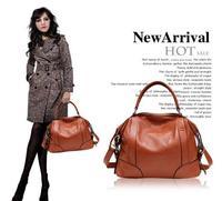 2014 New Hot Genuine Leather Bag Women Leather Handbag Women Messenger Bag First Layer Of Cowhide Shoulder Bolsas Brand 2P1006
