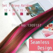 popular rainbow hair clip