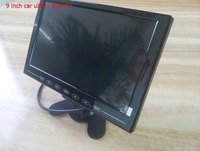 Free shipping By FeDex  9 inch Portable TV mini television touch buttons card MP5 player  car LCD HD monitors 10PCS/LOT