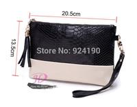 2014 new women Genuine leather Tassel handbags shoulder bag messenger bag Day clutch Chain bag small bag Free shipping HD367