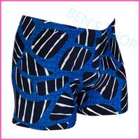 2014 Limited New Animal Polyester Masculino Sunga Men Swimming Trunks Quality Spandex Swimwears Bermuda for free Shipping