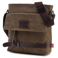 2014 100% Brand New sport men messenger bags fashion men's travel bags business shoulder bag Vintage canvas bags JIMEI-00821