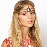 New 2014 Fashion Vintage Boho 6pcs Round Wreath Headband Head Chain Hair Bands Hair Accessories TS374