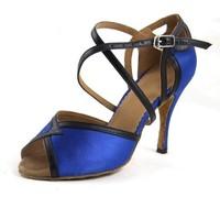 BBS-1AH06-2 Good quality latin dance shoes,latin sandals,ballroom shoes,women latin dancing shoes size4~10.5,heel height4~9cm