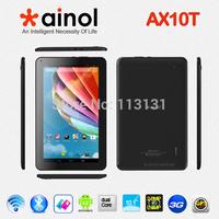 """Original 10.1"""" Ainol AX10T Phone Call Numy 3G Tablet PC Android 4.2 Dual Sim MTK8312 Dual Core 8GB Rom WCDMA OTG GPS"""