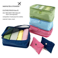 Hot Sale 2014 New Korean admission package travel pouch,storage bag .