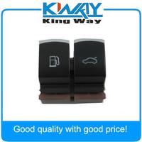 OEM Chrome Gas Door Fuel Tank Switch Trunk/Luggage Switch For VW Passat B6 B7L CC 35D 959 903