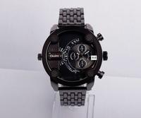 2014 Man Oulm Watch Stainless Steel Watch Luxury Brand Men Wristwatches Military Army Watches Quartz Men Watch