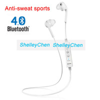 2014 New Anti-sweat Sports Bluetooth 4.0 Headset Wireless Stereo Headphone In-ear Earphones Handsfree for iPhone Samsung LG HTC
