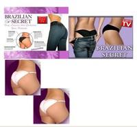 2014 New Brazilian Secret Opp Pack Sexy Lingerie Women Underwear Padded Panties Beautify Buttocks Up