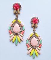 New 2014 stud earrings bubblu fashion Hot sale shourouk earring crysta vintage statement Earrings for women jewelry wholesale