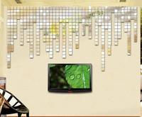New 100pcs 2x2cm Silver 3D Wall Sticker Mosaic Mirror Sofa Living Room Decor