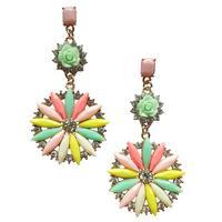 New 2014 fashion HOT women stud earrings bubblu shourouk earring crysta vintage korean Earrings for women jewelry wholesale