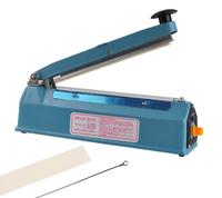 """8"""" Heat Sealing Impulse Manual Sealer Machine Poly Tubing Plastic Bag Teflon Bag Closer Sealer"""