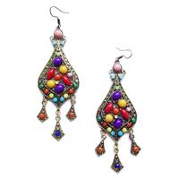 Wholesale earrings 2014 New  Min order $10 vintage fashion women statement Bohemia stud Earrings for women girl earring