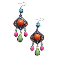 2014 New Arrival  (Min order $10)  fashion statement Bohemia stud Earrings for women girl earring Factory Price