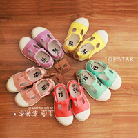 Ts sweet ice cream summer male female child t canvas shoes ultra soft breathable
