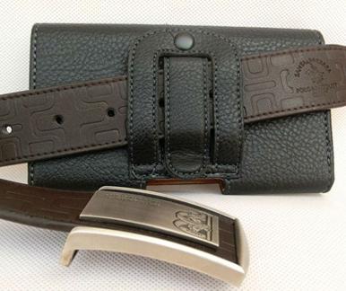 Кожаная сумка-кобура на ремень с клипсой  для explay fresh Cover phone cases