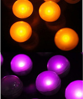 12pcs Replaceable floating led pool light waterproof led light ball fairy lights